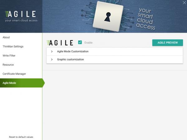 Agile Mode