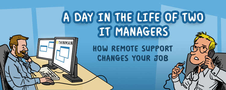 day life IT manager