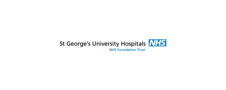 St George's Hospital banner