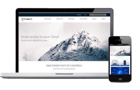 Praim launches new corporate website