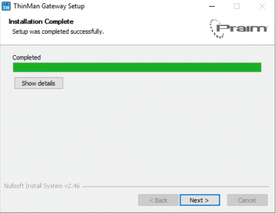 Gateway setup 3