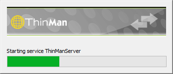 Starting ThinMan Services 2