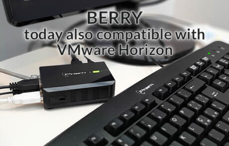 Berry is evolving: now also designed for VMware  Horizon