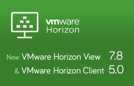 New Horizon View 7.8 and Horizon Client 5.0