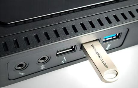 USB redirection for remote desktops