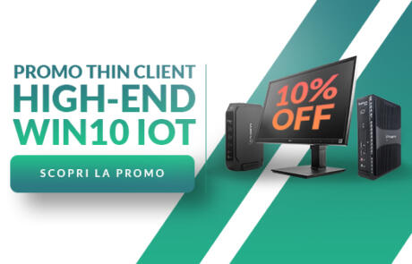 Promozione Thin Client High-end Win 10 IoT