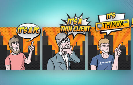 ThinOX4PC: the ideal solution to turn your PCs into thin clients