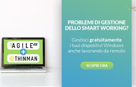 Problemi di gestione del tuo smart working?