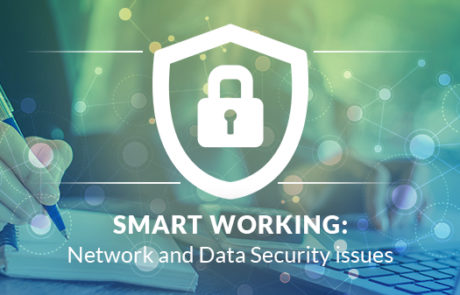 Smart Working: Network and Data Security issues