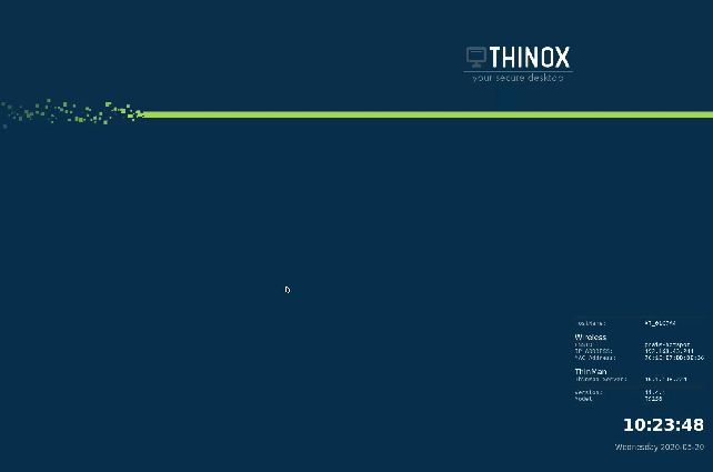 ThinOX4PC USB sfondo