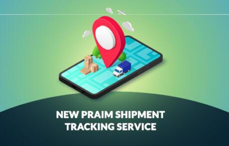 New Praim shipment tracking service
