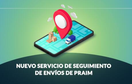 Nuevo servicio de seguimiento de envíos de Praim