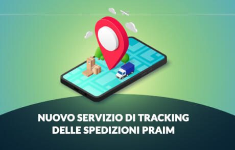 Nuovo servizio di tracking delle spedizioni Praim