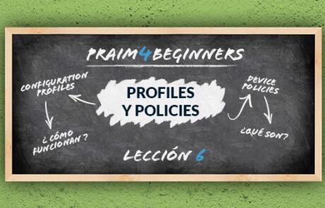 Una guía para principiantes sobre los Profiles y Policies
