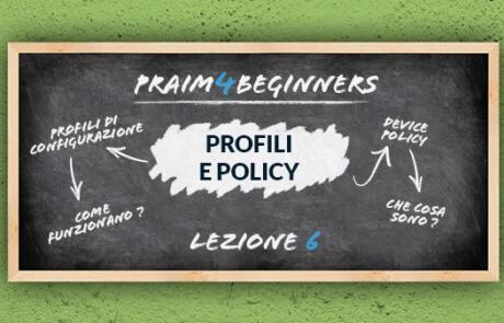 Guida per principianti ai Profili e alle Policy