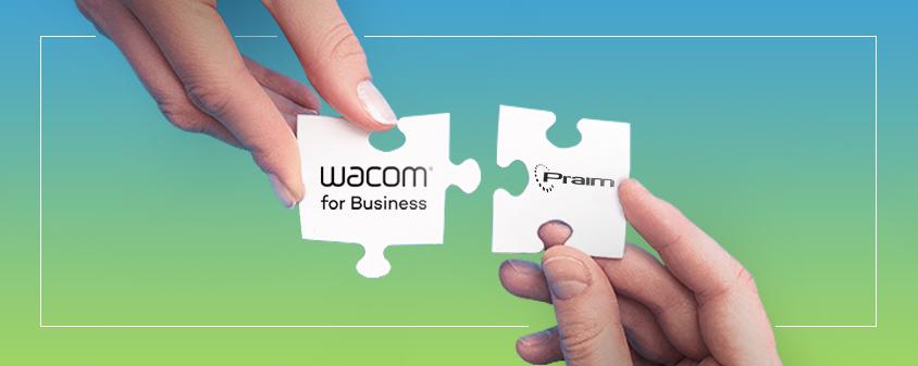 Praim partnership Wacom