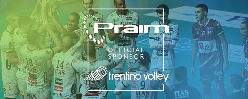 Praim sponsor Trentino Volley