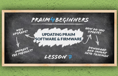 A beginner's guide on how to update Praim software and firmware