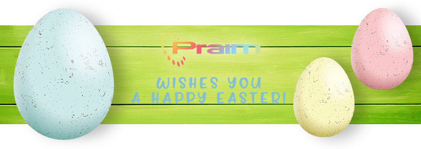 Happy Easter from Praim