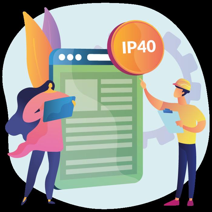 H Series certificazione IP40