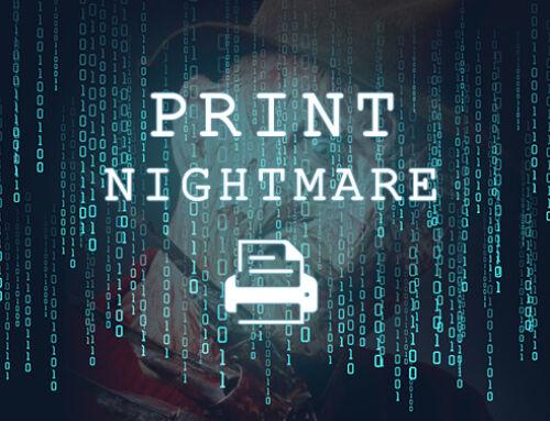 The PrintNightmare vulnerability